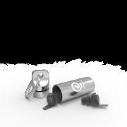 01-Standard - Earproof - Cannister - L - Silver 10 db